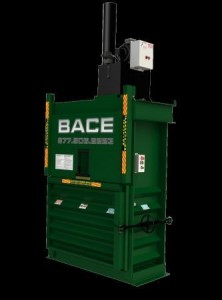 product destruction vertical baler