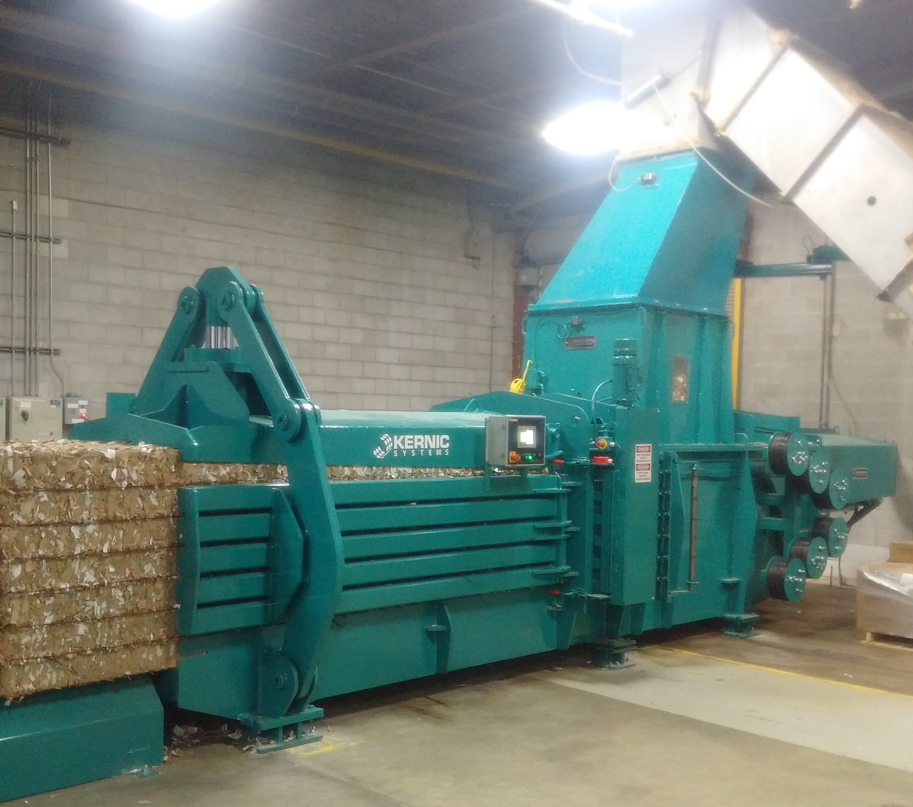 Baler Wire Tie System : Vertical and horizontal balers recycling equipment