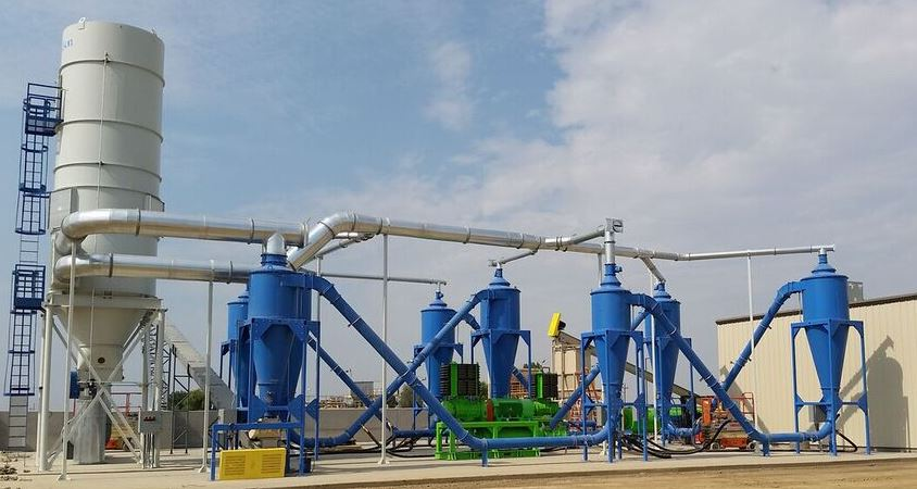 Air Drying Units : Dryclone air drying system recycling equipment