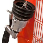 Iris-Mec hands-free self-supporting fuel extractor drill