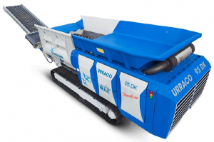 urraco mobile heavy duty shredder