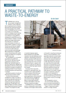 waste to energy WTE